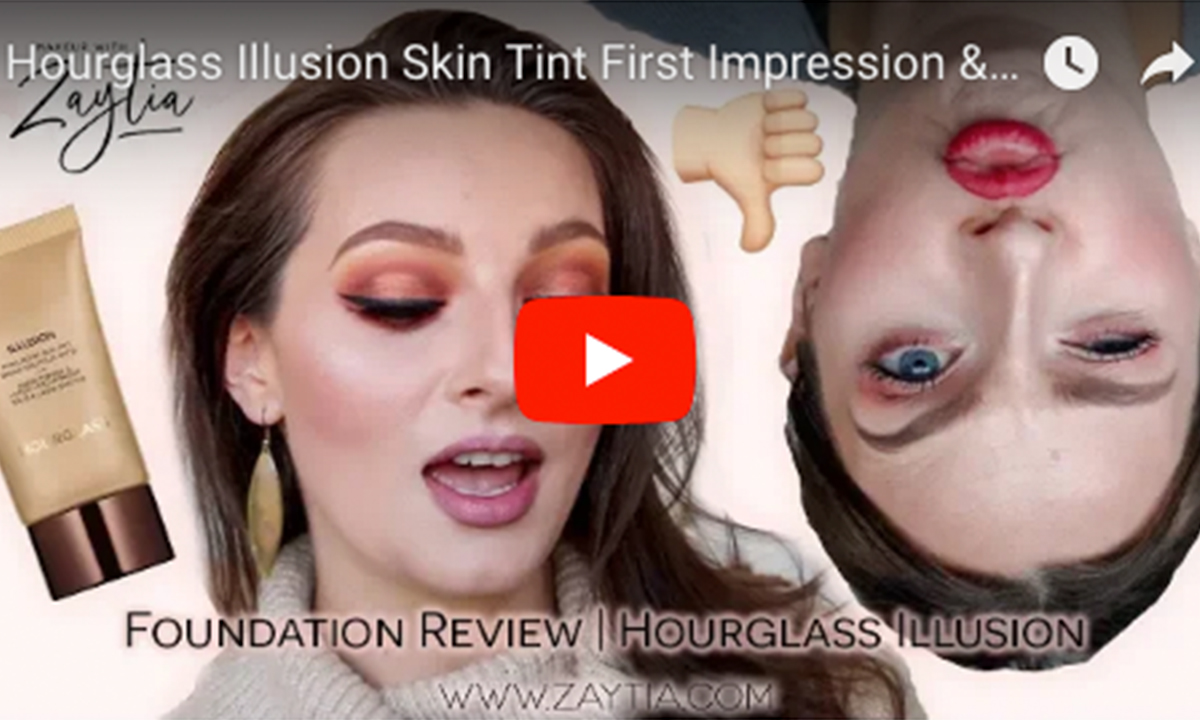 Hourglass Illusion Skin Tint First Impression & Review  | Dehydrated Skin