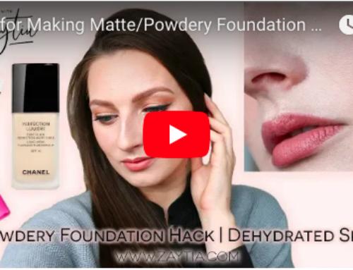 Foundation Hack to Fix Powdery Foundation | Dehydrated Skin