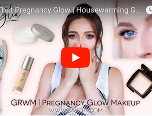 Fake That Pregnancy Glow | Housewarming GRWM