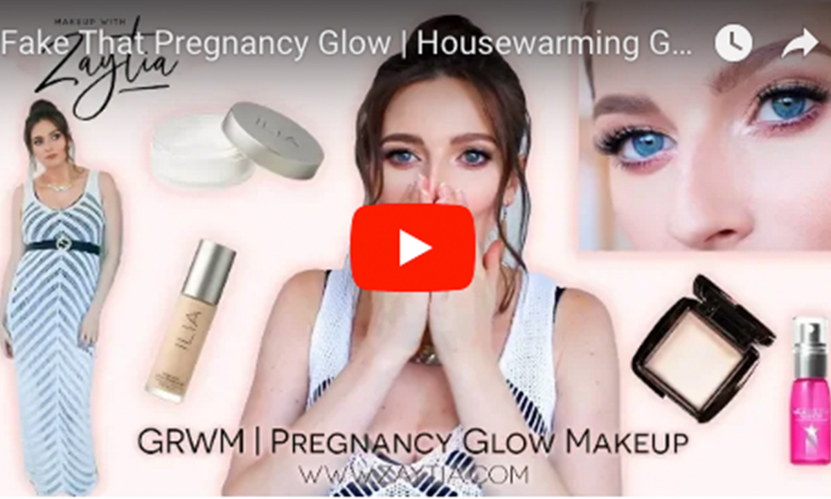 Fake That Pregnancy Glow | Housewarming GRWM