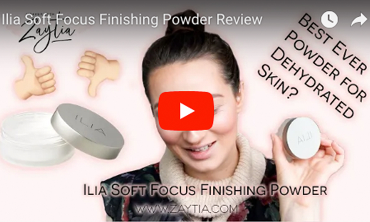 Best Setting Powder for Dehydrated Skin? | Ilia Fade Into You